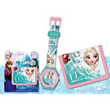 Disney Frozen – Die Eiskönigin Geldbörse und Armbanduhr Set