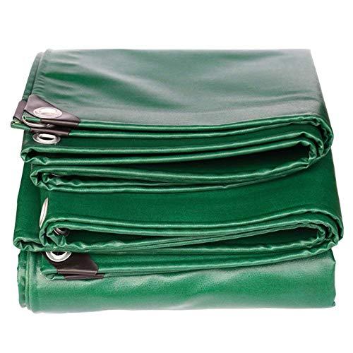 SSYBDUAN Plane, effiziente Isolierung PVC-Wasserdichte Sonnencreme grüne Leinwand, Stärke 0,51 mm, Multi-Größe optional (3M × 4M) (Farbe : Verde, größe : 3m × 3m)