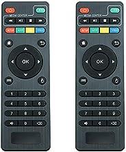 جهاز تحكم عن بعد X96 Mini (2 حزمة) X96 S905W بديل للتحكم عن بعد MXQ Pro 4K، T95M، T95N، T95X، MX9H96H96 pro+ أ