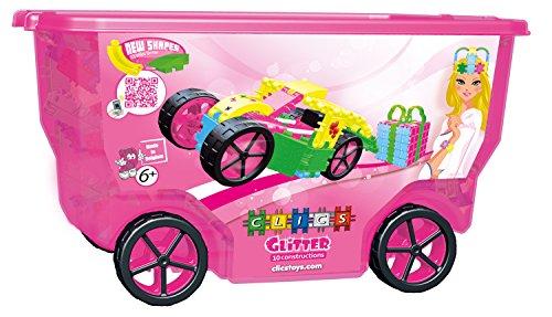 Clics CB415 - Glitter Rollerbox 10 in 1