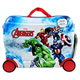 DC Comics The Avengers Clouds Trolley Rigido Cavalcabile da Viaggio con Quattro Ruote