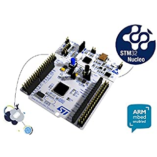 STMicroelectronics NUCLEO-F103RB Model STM32 Nucleo-64 Development Board with STM32F103RB MCU, Supports Arduino and ST Morpho Connectivity