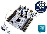 NUCLEO-F103RB: kit de développement comprenant le microcontrôleur STM32F103RB en boîtier LQFP64 pins de chez ST Microelectronics, compatible avec les connecteurs Arduino and ST Morpho