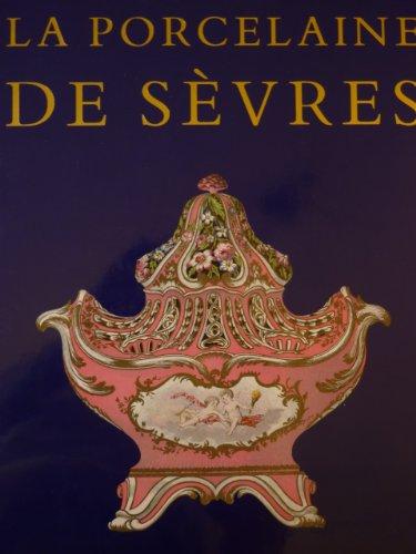 Edouard Garnier. La Porcelaine tendre de Sèvres. Avec 50 planches reproduisant 250 motifs en aquarelle d'après les originaux et une notice historique