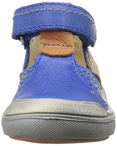 Aster Dratch, Chaussures Premiers pas bébé garçon Bleu
