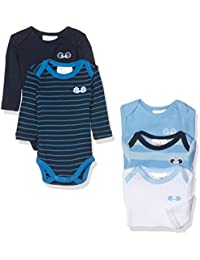 Twins Baby-Jungen Langarm-Body, 5er Pack