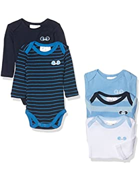 Twins Baby-Jungen Langarm-Body, 5er Pack