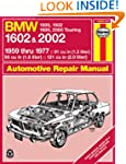 BMW  1602 and 2002 Haynes Workshop Ma...
