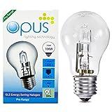 5 x Opus Glühbirne Eco Halogen-Energiesparlampe 70 W = 100 W ES E27 Dimmbar Warmweiß