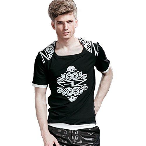 FANZHUAN T Shirt Herren Mit Aufdruck Herren Xxl T Shirt T-Shirts Xxl Herren