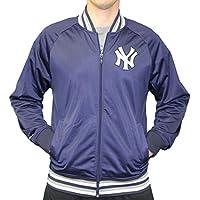 "New York Yankees Mitchell & Ness MLB Men's ""Top Prospect"" Full Zip Track Jacket"
