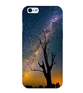 Starry Night 3D Hard Polycarbonate Designer Back Case Cover for Apple iPhone 6