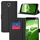 ELTD CUBOT MAX Case, Smartphone Mappen Kasten / Hülle / Tasche/ Schutzhüll mit rücksichtsvoller Gestaltung des magnetischen Teilse Für CUBOT MAX, Schwarz