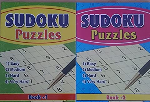 SUDOKU Book 1 & 2
