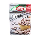 #2: Vinod 250g x 2 Roasted Pistachio Nut (Pista) 500 gm Pack of 2 Grade - Big Size