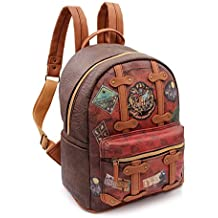 Karactermania Harry Potter Railway Mochilas de A Diario, 32 cm, 13 litros, Marrón