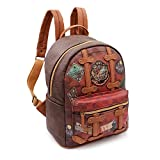 Karactermania Harry Potter Railway-Fashion Backpack Rucksack, 31 cm, 13 liters, Braun (Brown)