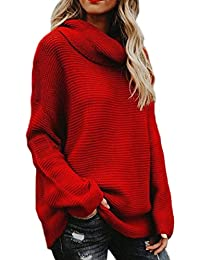 5b1ee438c jersey oversize mujer - Mujer: Ropa - Amazon.es