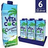 Vita Coco Agua De Coco Natural, (1L) (Paquete de 6)
