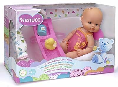 Famosa 700009020 Nenuco - Muñeco con bañera (35 cm) de Famosa
