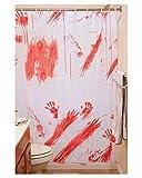 Blutiger Duschvorhang