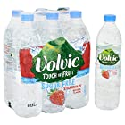 Volvic Touch of Fruit Sugar Free Strawberry Flavoured Water, 6 x 1.5 Litre