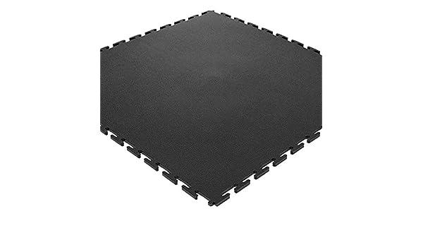 Pvc pavimento piastrelle per garage cantine e hobby grigio