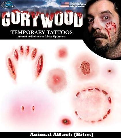Transferts - Tinsley - Animal Attack Tatouages ??de Hollywood .