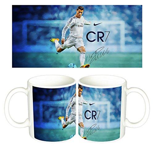 Cristiano Ronaldo Real Madrid CR7 C Taza Mug