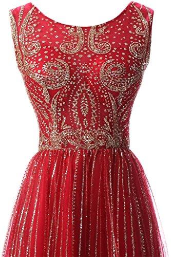 Missdressy - Robe - Femme Rouge - Rouge bordeaux