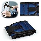 LEADEXTEK magnetische Armbänder mit 5 leistungsstarken Magneten für die Abhaltung von Schrauben, Nägel, Bohrer, beste Werkzeug Geschenk für DIY-Handwerker, Männer, Women(Blau)