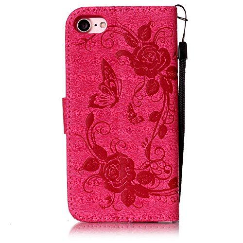 Coque iPhone 7, Meet de pour Apple iPhone 7 (4,7 Zoll) Folio Case ,Wallet flip étui en cuir / Pouch / Case / Holster / Wallet / Case, Apple iPhone 7 (4,7 Zoll) PU Housse / en cuir Wallet Style de couv D