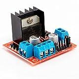 Neuftech L298N Dual H-Brücke DC Stepper Motortreiber Schrittmotor Controller Modul für Arduino