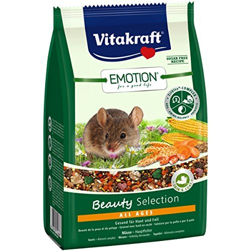 Vitakraft Emotion Beauty All Ages, Mäuse - 300g (Mais Vitakraft)