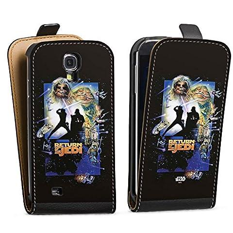 Samsung Galaxy S4 mini Tasche Hülle Flip Case Star Wars Merchandise Fanartikel Return Of The Jedi