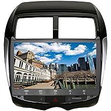"Roverone 10.2 ""Android 6.0 Octa Core Autoradio coche reproductor de GPS para MITSUBISHI ASX (para Peugeot 4008 para Citroen C4 con navegación Radio estéreo Bluetooth Espejo Enlace Full pantalla táctil"