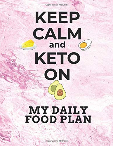Keep Calm and Keto On My Daily Food Plan: 8.5
