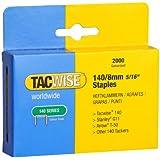 Tacwise 0346 Boîte de 2000 Agrafes galvanisées 8 mm Type 140