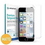 smartect iPhone SE / 5 / 5s / 5c Panzerglas MATT - Displayschutz mit 9H Härte - Blasenfreie Schutzfolie - Anti Fingerprint Panzerglasfolie