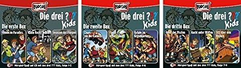 Die Drei ??? (Fragezeichen) Kids - Folgen 1-9 (3 CD Box 1+2+3) im Set - Deutsche Originalware [9