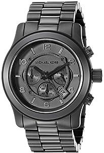Michael Kors MK8157 - Reloj de cuarzo con correa de acero inoxidable para hombre, color negro de Michael Kors