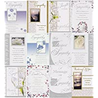 12 Assorted Sympathy/Bereavement Cards with envelopes
