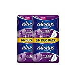 Always Sanitary Towels Long with Wings 48 Cnt