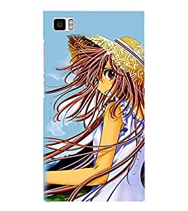 Fuson Designer Back Case Cover for Xiaomi Mi3 :: Xiaomi Mi 3 (Gorgeous girl Beautiful Girl Stunning Pretty Lovely Cute)