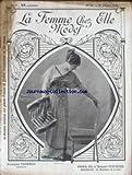 FEMME CHEZ ELLE MODES (LA) [No 26] du 01/02/1912 - PHOTO REUTLINGER - MODELE REDFERN - COIFFE DU PAYS DE RETZ - COIFFE DE NOCES DES GUERANDAISES - BOURGEOISE LANDAISE COIFFURE DE BELLE ILE-EN-MER - BARBICHET LIMOUSIN....