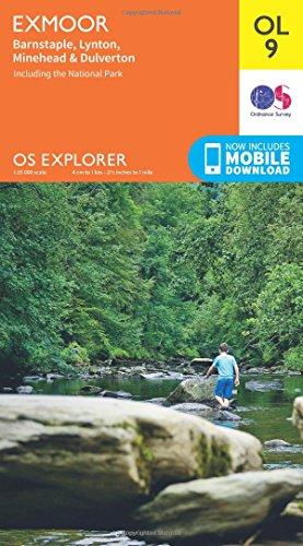 OS Explorer OL9 Exmoor (OS Explorer Map)