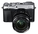 Fujifilm X-E3 24.3MP Mirrorless Digital Camera with 3x Optical Zoom (Black and Silver)