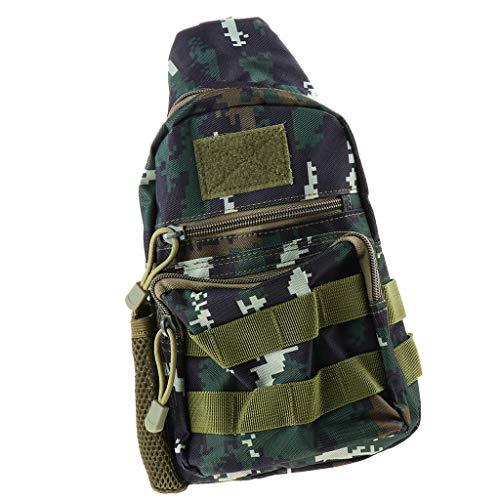 perfk 1 Stück Angeltasche Schulter Tragegurt Aufbewahrungskoffer Wasserdicht Tasche Umhängetasche - Typ 9