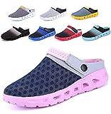 CCZZ Zuecos Para Mujer Hombre Respirable Zapatos Zapatillas Sandalias Chanclas de Playa de Verano Ahueca Hacia Fuera Las Sandalias