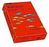 Papyrus 88042475 Druckerpapier Rainbow 80 g/m², A4 500 Blatt intensivrot